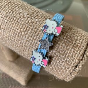 Hello Kitty Bracelet with Charms